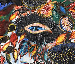 L'Arbre du paradis (détail), circa 1929-1930 - Huile sur toile ©Musée des Arts et D'Archéologie de Senlis
