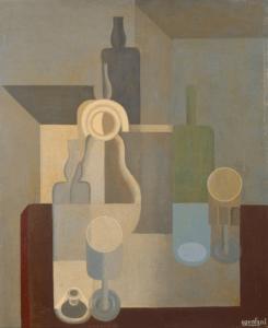 Nature morte, 1921, Huile sur toile, 72 X 60 cm