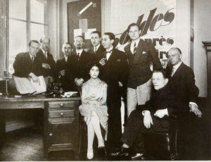 Groupe Cercle et Carré chez Paul Dermée, Paris, 1928