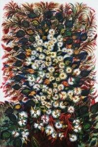 Les grandes marguerites, circa 1929-1930 - Huile sur toile, 195 X 130 cm ©Musée d'Art et d'Archéologie de Senlis