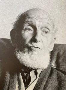 René Rimbert chez Pierre Guénégan, Paris, 1979