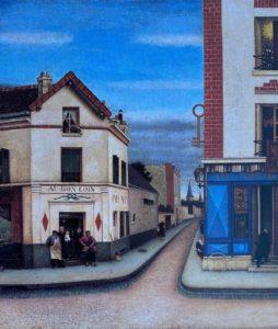 Allégorique allusion à la diversité des demeures, 1945 Huile sur toile, 55 X 46 cm ©Musée Anatole Jakovsky, Nice