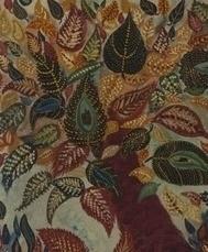 Arbre ou Feuilles d'Automne, circa 1929-1930, Huile sur toile, 65 X 54 cm, Collection P & M Guénégan
