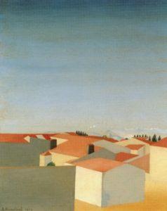 Bordeaux II, 1918 Huile sur toile, 55 X 45 cm ©The Art Institute, Chicago, U.S.A