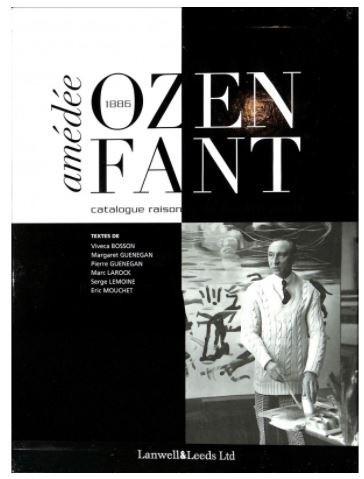 Couverture catalogue – Ozenfant 1