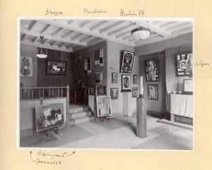 1921, Galerie de l'Effort Moderne, Paris, œuvres de Gleizes, Mondrian, Herbin, Léger, Jeanneret, Ozenfant