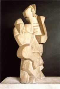 Jacques Lipchitz Marin à la guitare, 1918