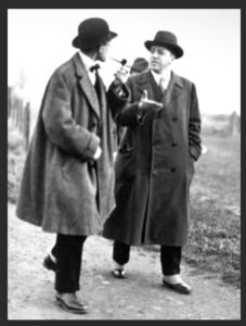 Le Corbusier et Walter Gropius vers 1926