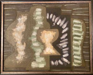 Nature morte puriste, 1924 Huile sur toile, 33 X 41 cm Collection particulière