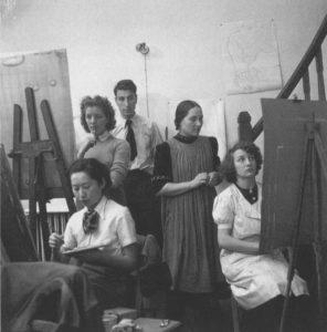 Nicolas de Staël étudiant à l'Académie Moderne Ozenfant-Léger, Paris, 1930