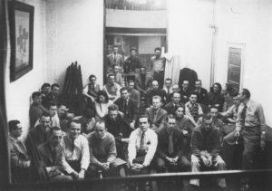Ozenfant et ses étudiants à la Ozenfant's School of New York, 1940