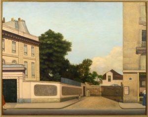L'Impasse, huile sur toile, 73 X 92 cm, 1928, Collection Guénégan